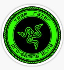 Old Team Razer Logo Sticker