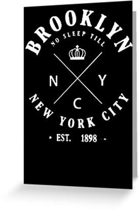 «Brooklyn New York City Est-1898 hipster tumblr» de ipan