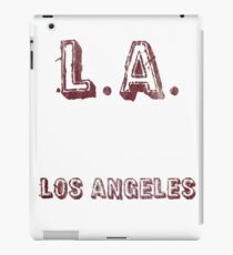 L.A: Los Angeles iPad Case/Skin