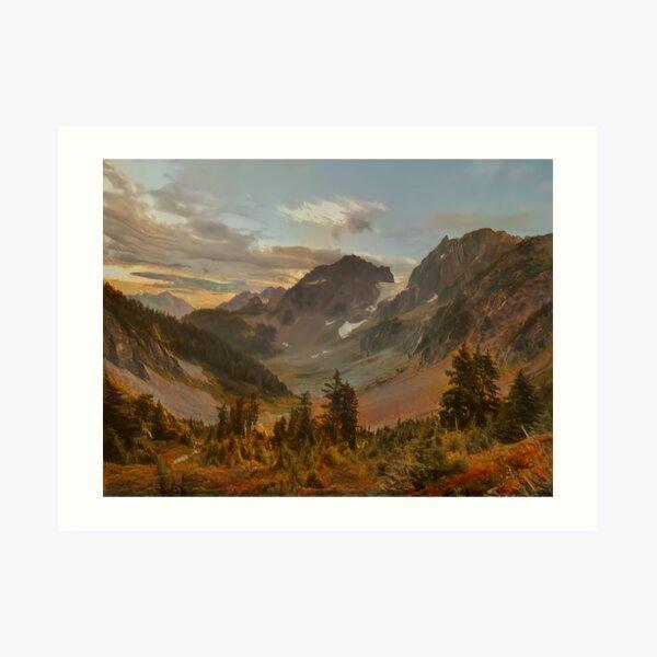 Cascade Pass Art Print