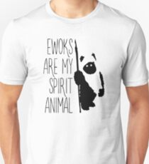 Ewoks Are My Spirit Animal Unisex T-Shirt