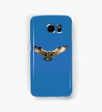 Osprey hunts for dinner Samsung Galaxy Case/Skin