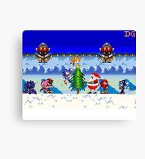 Winter Sonic Canvas Print