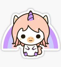 Cute pastel unicorn Sticker