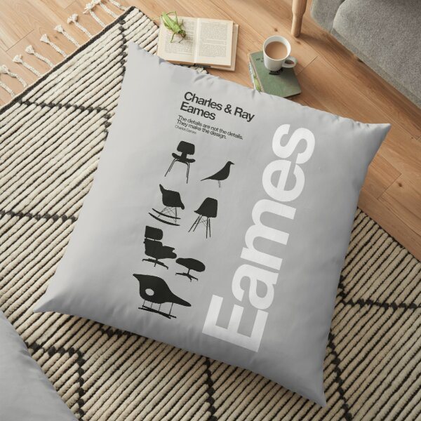 Eames Chairs Collections Floor Pillow