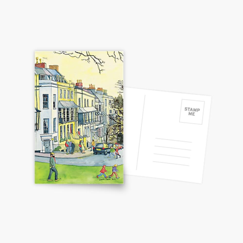 Verandahs, Sion Hill, Clifton, Bristol. Postcard