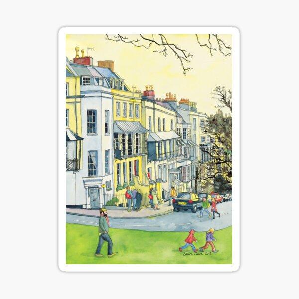 Verandahs, Sion Hill, Clifton, Bristol. Sticker