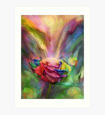 Healing Rose Art Print