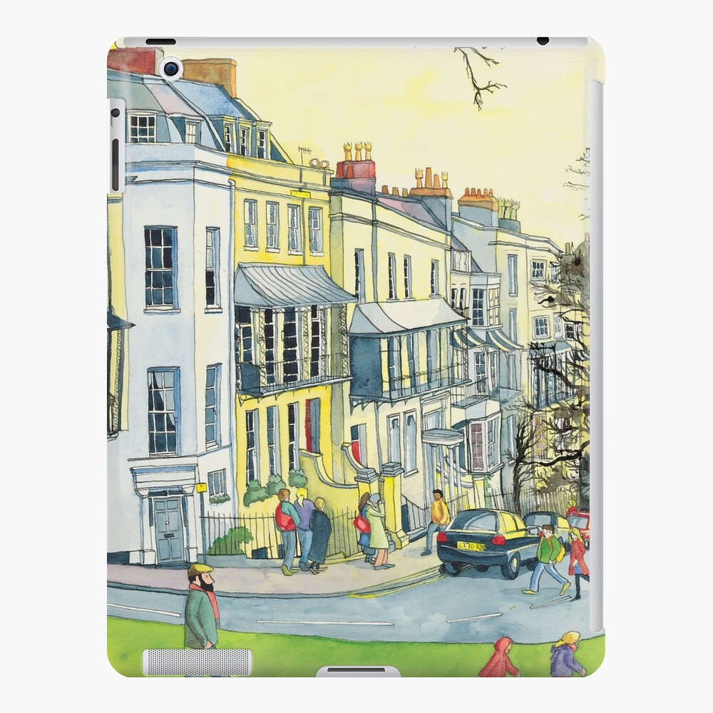 Verandahs, Sion Hill, Clifton, Bristol. iPad Case & Skin