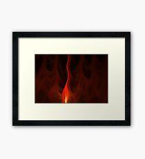 Apophysis Fractal Flame Framed Print