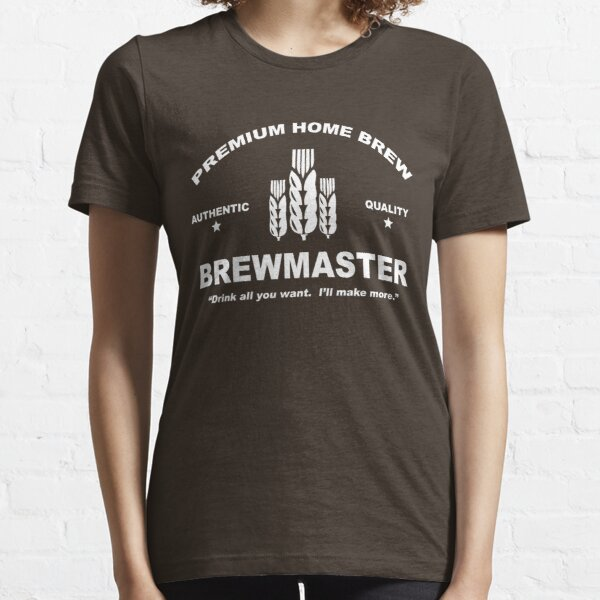 Home Brew Brewmaster Essential T-Shirt