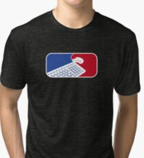 Geek Sport - National Gamers Association  Tri-blend T-Shirt