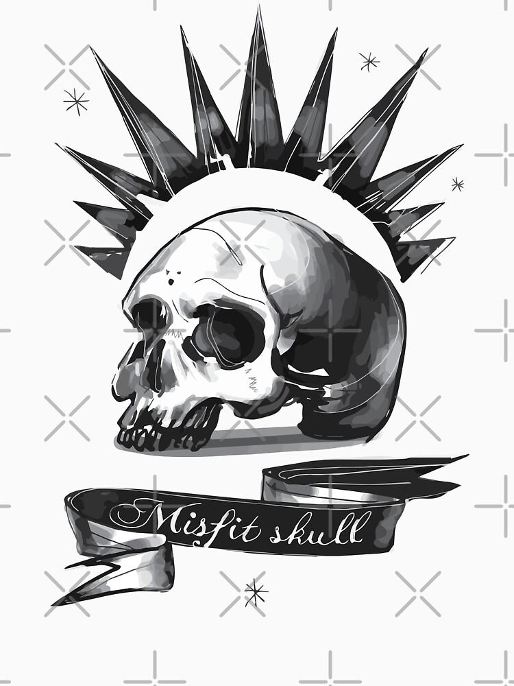 Misfit Skull  Chloe Price, Pricefield | Unisex Tank Top