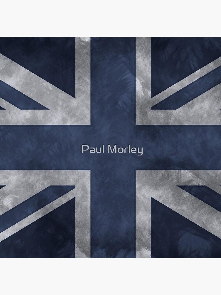 Blue Distressed Union Jack by pjmorley