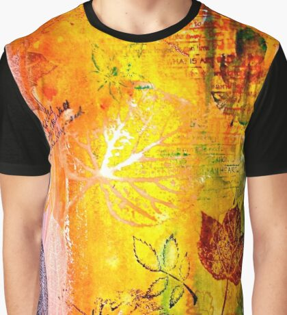 Nature...Layered with Texture Graphic T-Shirt