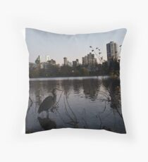 the Nature of Vancouver Throw Pillow