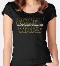 Sawft Wars Women's Fitted Scoop T-Shirt