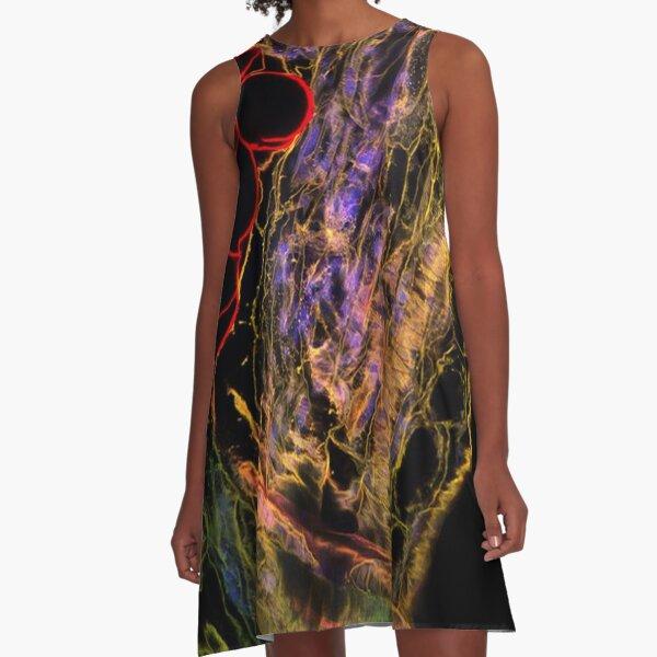OpArt A-Line Dress