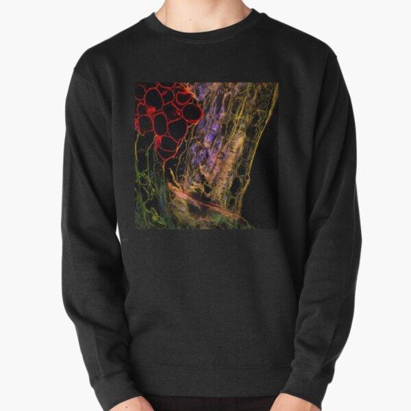 OpArt Pullover Sweatshirt