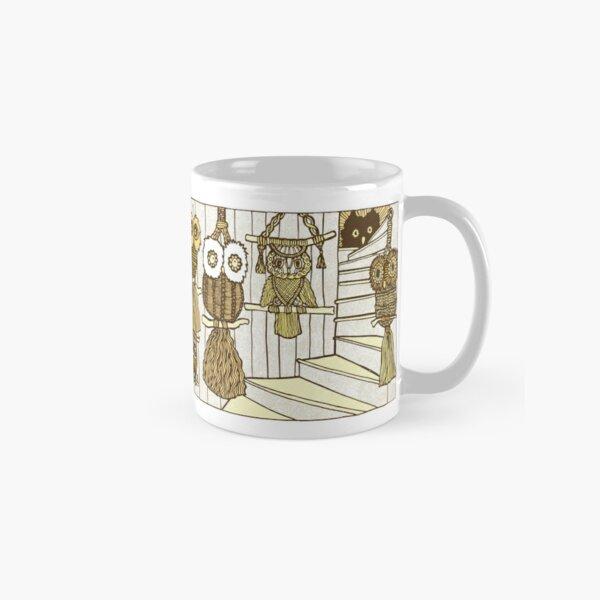 Macrame Owls Classic Mug