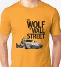 THE WOLF OF WALL STREET-LAMBORGHINI COUNTACH Unisex T-Shirt