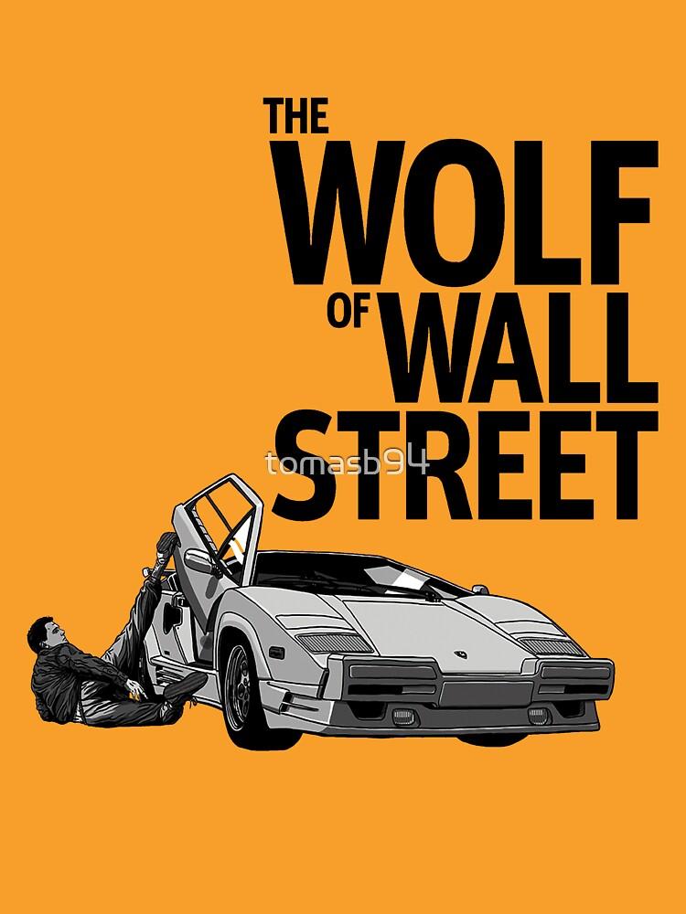 the wolf of wall street lamborghini countach unisex t. Black Bedroom Furniture Sets. Home Design Ideas