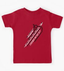 Monorail Red T-Shirt  Kids Tee