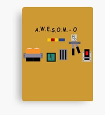 AWESOM-O 4000 Canvas Print