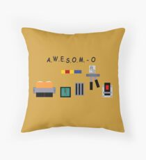 AWESOM-O 4000 Throw Pillow