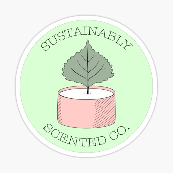 Sustainably Scented Co Sticker