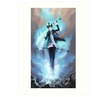 Blue Exorcist Anime Art Print