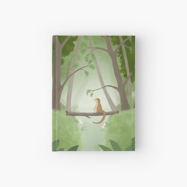 Pipisin in the Forest Hardcover Journal