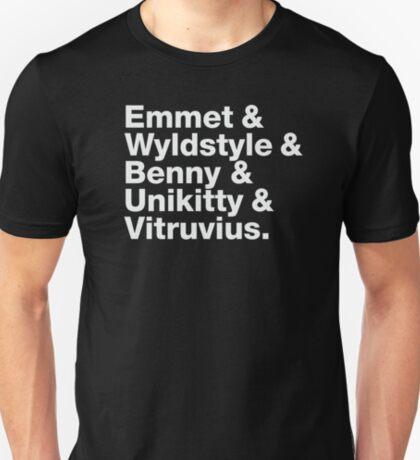 Brick Names T-Shirt
