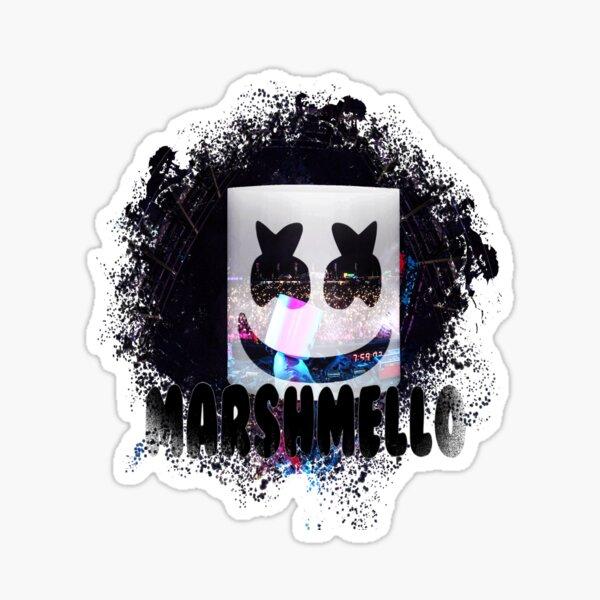 Art Marshmello DJ Sticker
