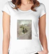Amish Women's Fitted Scoop T-Shirt