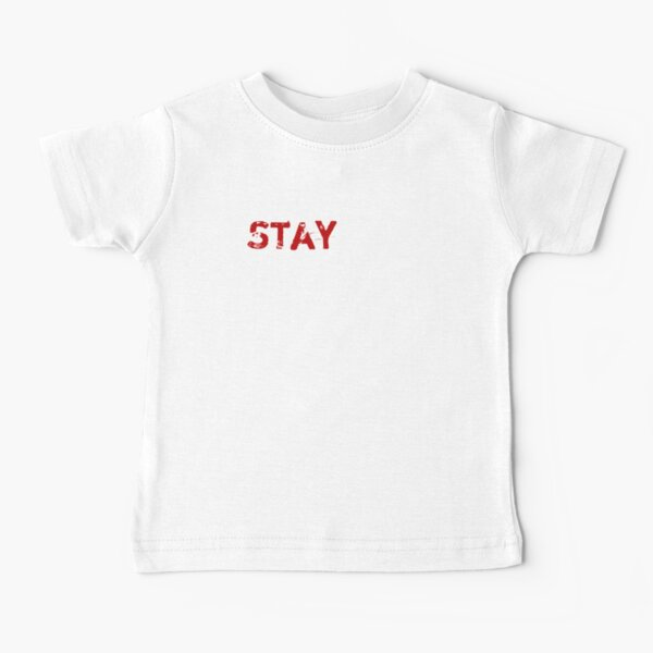 Stay Pawsitive - Funny Cat Baby T-Shirt