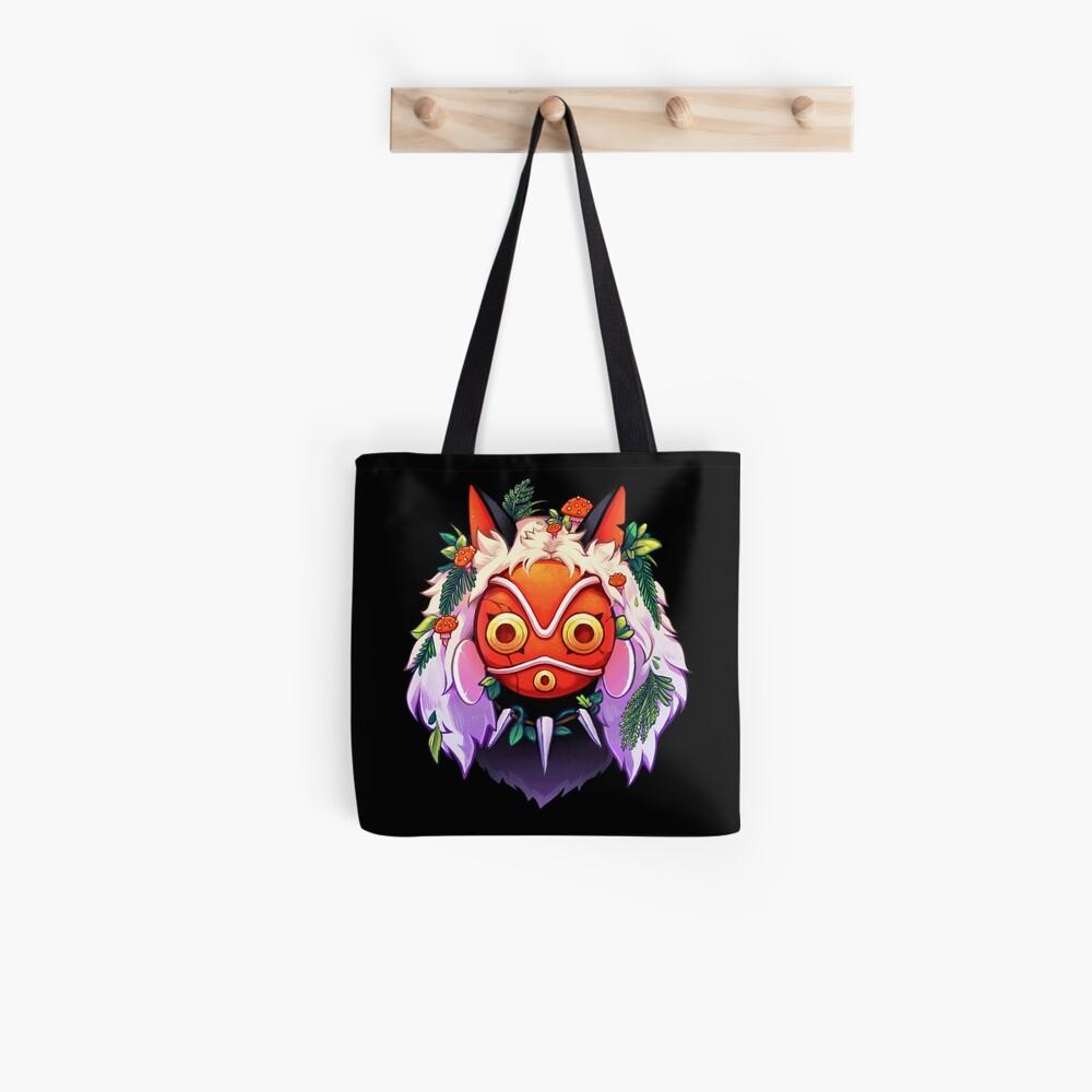 Forest Princess Mask Tote Bag