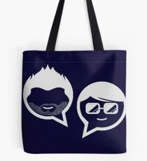 Stubble and The Nerd Podcast Tote Bag