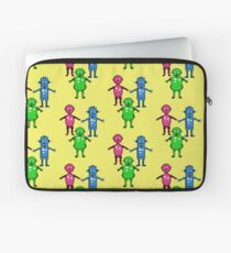 Robot Trio  Laptop Sleeve