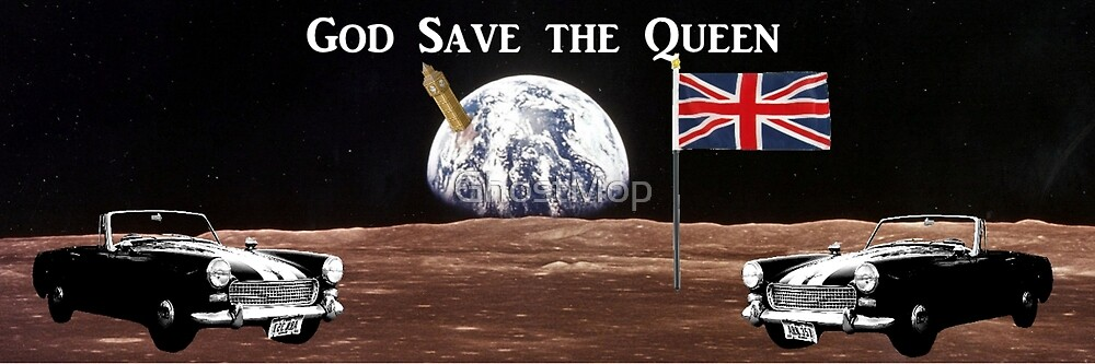 God Save the Queen by GhostMop