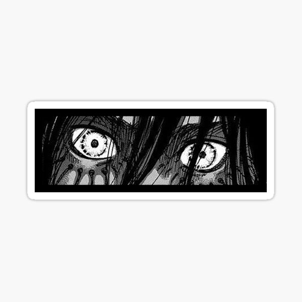 Eren's gaze - Attack on Titan -  Sticker