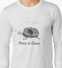Rock is Dead Long Sleeve T-Shirt