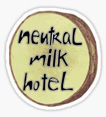Neutral Milk Hotel Logo Sticker