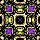Purple Tiled Passion  by LouisaCatharine