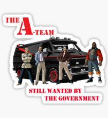 The A Team Van Stickers Redbubble