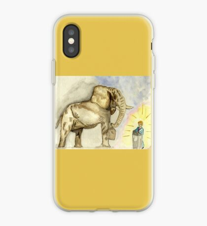 Rage, Rage  against the dying of the Light. iPhone Case