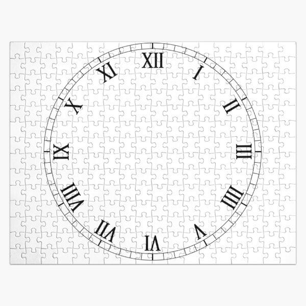 Roman Numeral Clock Face Jigsaw Puzzle