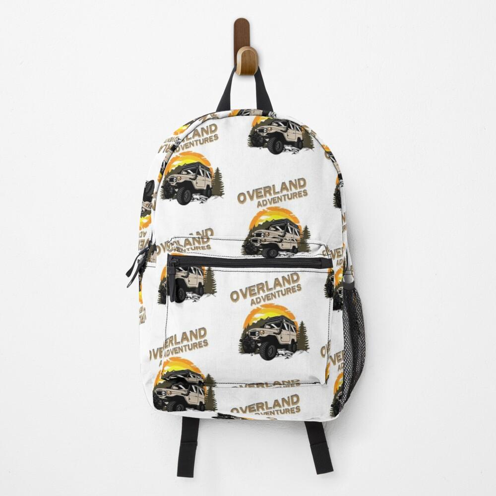 Overland Adventures Retro Backpack