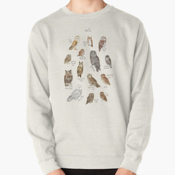 Owls Pullover Sweatshirt