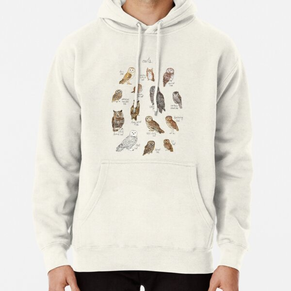 Owls Pullover Hoodie